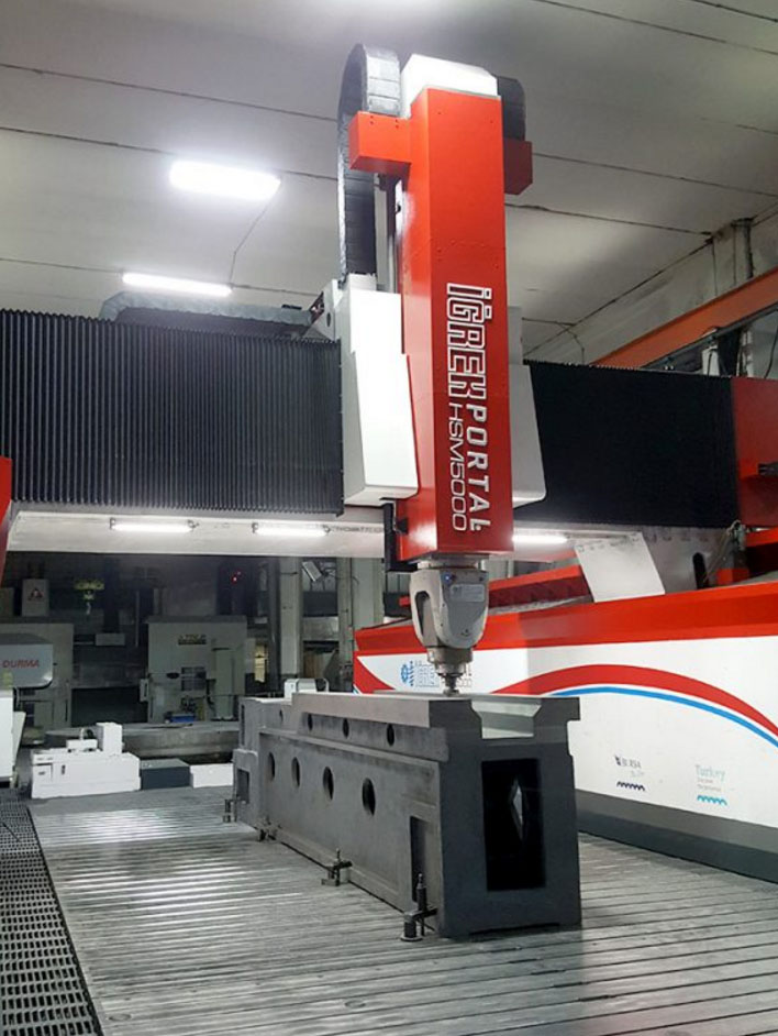 aluminium cnc processing machine