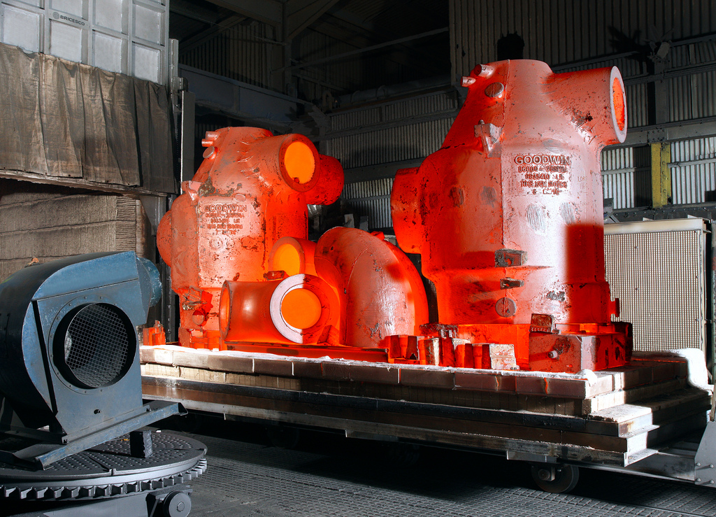 Heat treating of steel by Baertec manufacturing