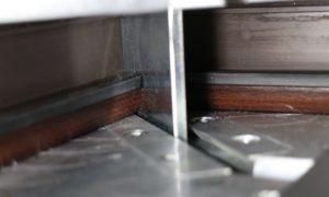 Pvc or aluminium window making machine made in Turkey