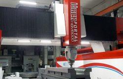 CNC aluminium processing machine for drilling milling cutting aluminium profiles