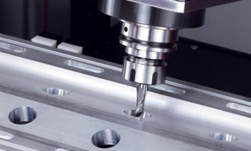 Aluminium CNC drilling milling and cutting machining for window and door profiles