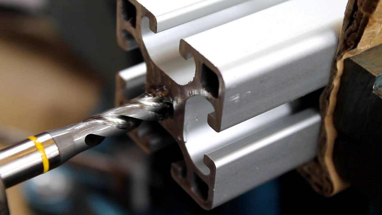 Aluminium profile cutting and drilling machine in England London Aluminum exchange