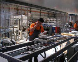 Maszyna do produkcji okien drewnianych z aluminium Pvc