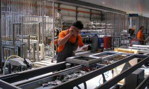 Pvc Aluminium Holz Fenster Tür Herstellung Maschine