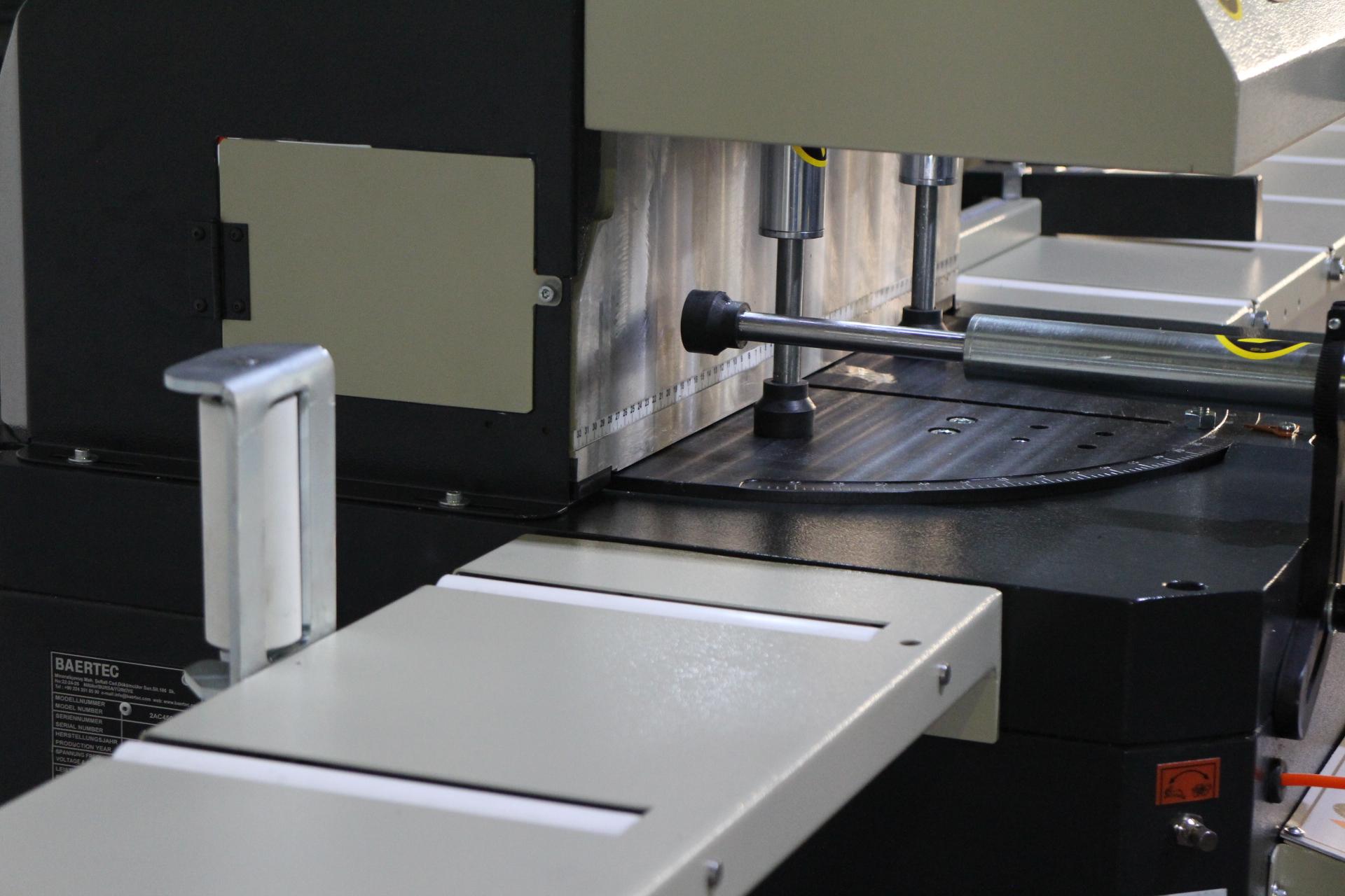 Window manufacturing machinery