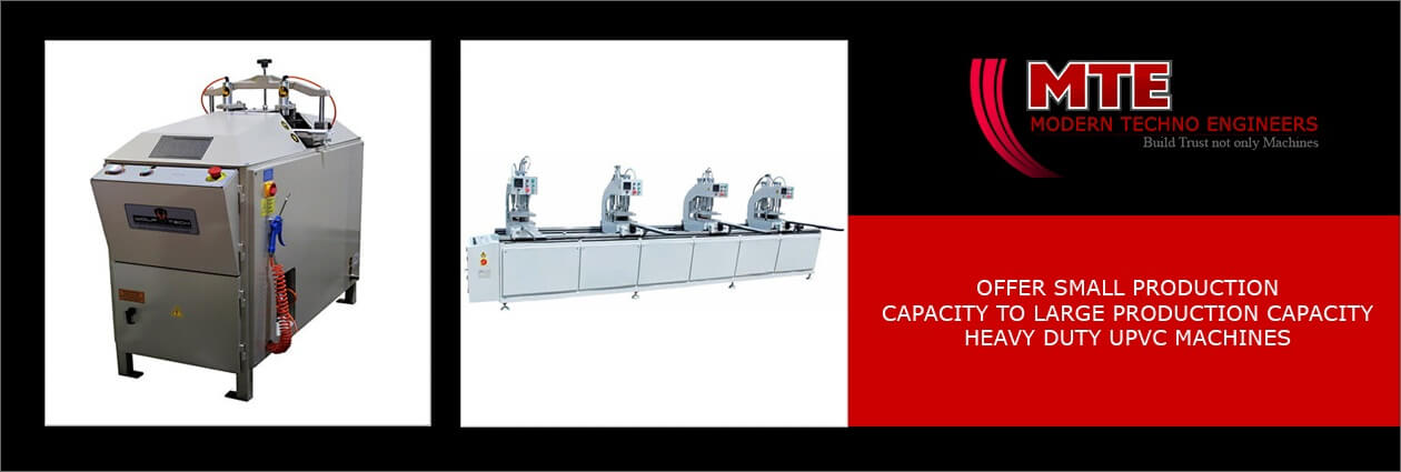 PVC aluminium window machine dealer supplier in Nagpur India