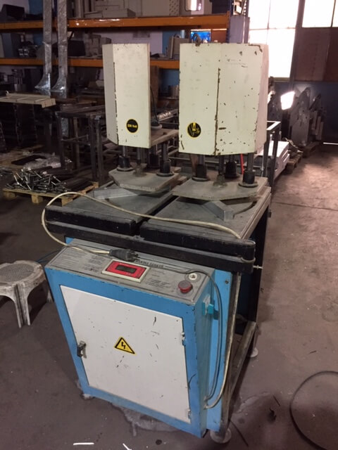 Second hand upvc window machines